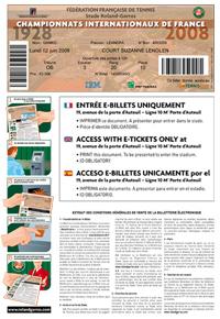 roland garros tickets translated. Black Bedroom Furniture Sets. Home Design Ideas