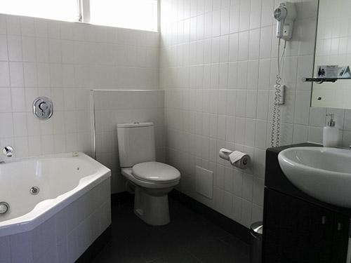 our bathroom w/ huge tub