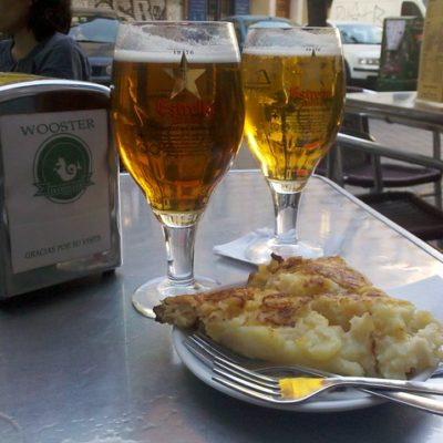 drinks and tapas in Madrid
