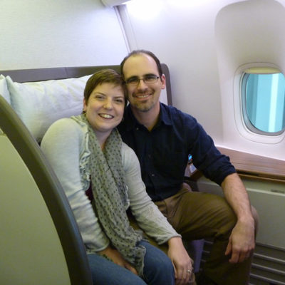Asian adventure 2011: First class on Cathay Pacific