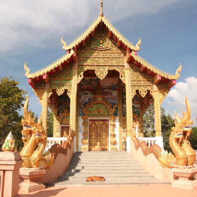 Asian adventure 2011: Chiang Mai temples and markets