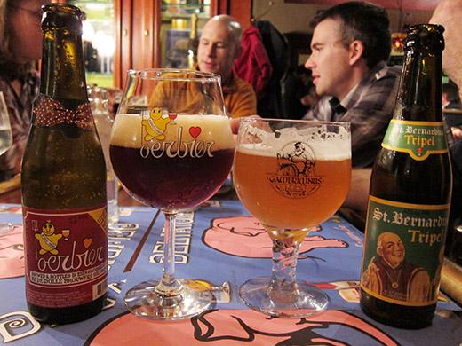 Belgium 2012: Bruges food & drink