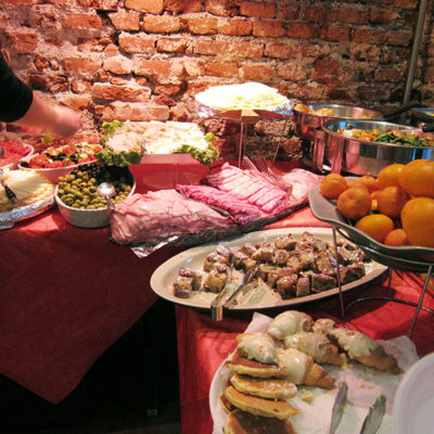 Italy 2014: Milan food and drink