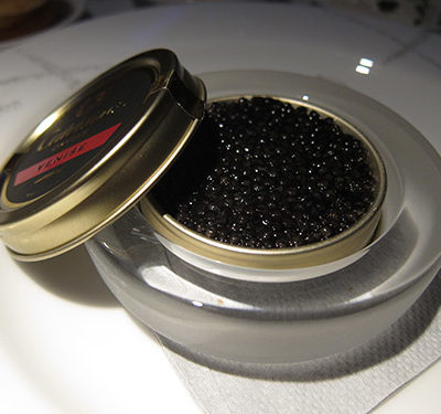 Memory Monday: $120 worth of caviar in my belly