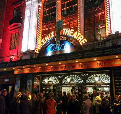 London Nov 2014: Once the Musical
