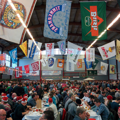 Belgium 2014: Antwerp and the OBER Christmas beer festival in Essen