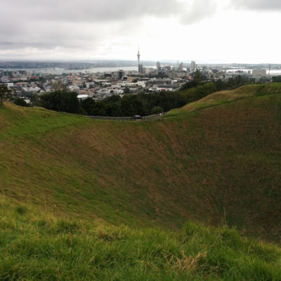 Auckland: viewpoints (Mt Eden and Mt Victoria)