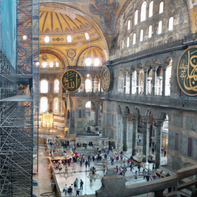 Istanbul 2015: Friday at the Hagia Sophia and Blue Mosque