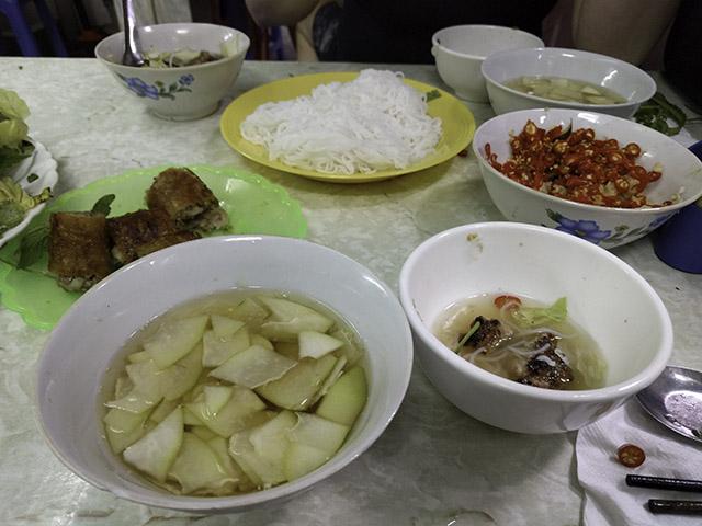 Vietnam 2016: tasting Hanoi
