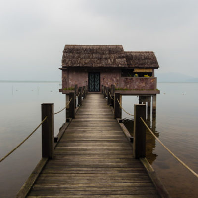 Vietnam 2016: overwater villa at the Vedana Lagoon Resort