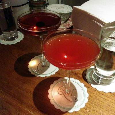Memory Monday: Cocktails @  The Zetter Townhouse Clerkenwell