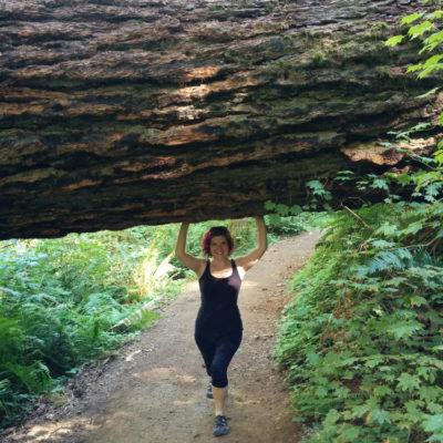 Leandra's 40th: Silver Falls State Park