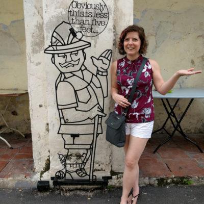 Malaysia: Georgetown street art