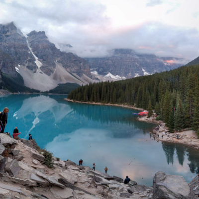 Canadian Rockies: Moraine Lake, Consolation Lakes, Marble Canyon + Paint Pots