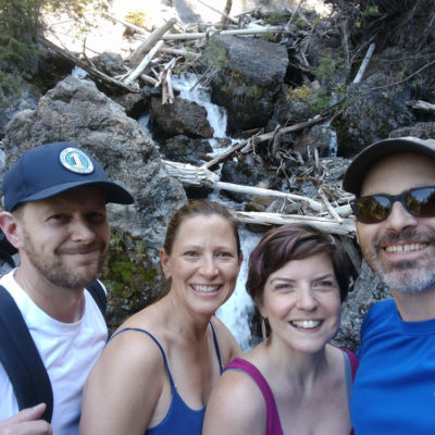 Canadian Rockies: Sundance Canyon hike + seeing old friends