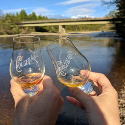 Scotland 2018: Spirit of Speyside Craigellachie Bridge tasting
