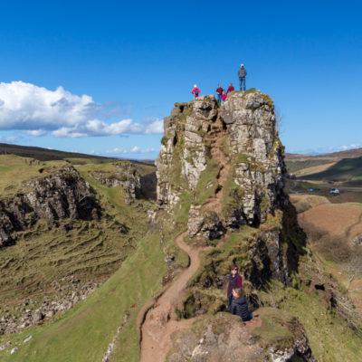 Scotland 2018: Isle of Skye – Fairy Glen, Mealt + Lealt Falls, Quairaig