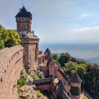 Alsace: Day 1 – Haut-Koenigsbourg, Saint-Hippolyte, Rorschwihr, Ribeauville