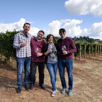 Oregon: Willamette Valley – where we stayed + weekend with friends