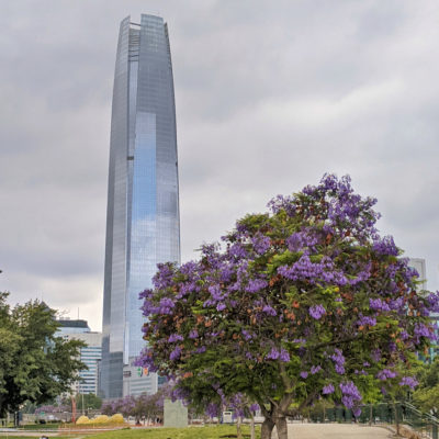 Patagonia: a day in Santiago