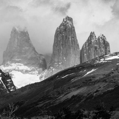 Patagonia: TDP, Day 1: Laguna Azul, Amarga, Sarmiento, Nordenskjöld, Salto Grande