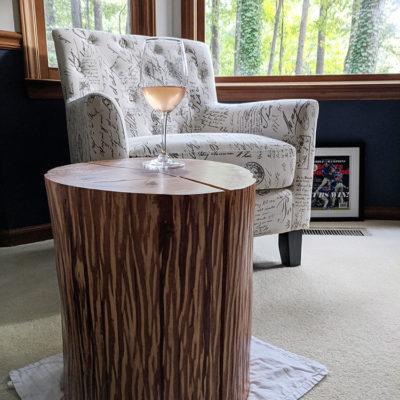 Wine / Whisky Room custom table