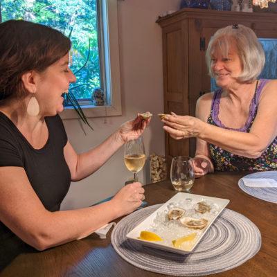 NY Summer 2021: shucking oysters!